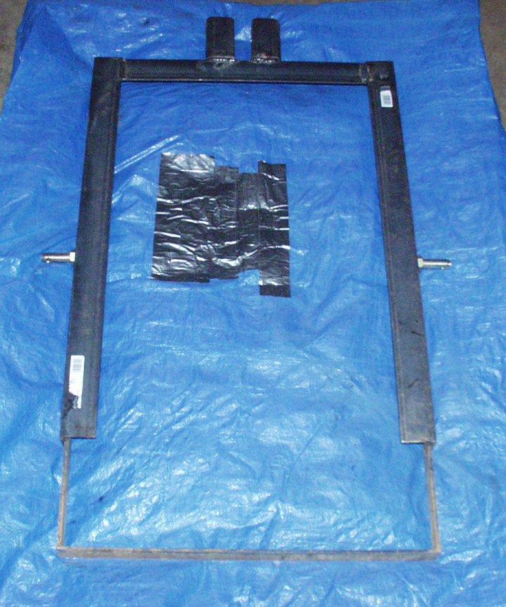 Homemade 3 Point Hydraulic Top Link : Sod cutter attempt mytractorforum the friendliest